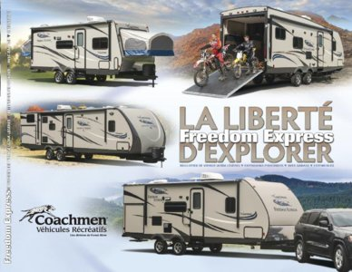 2015 Coachmen Freedom Express French Brochure page 1
