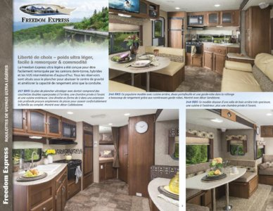 2015 Coachmen Freedom Express French Brochure page 2