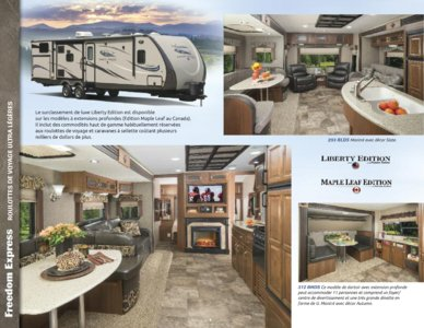 2015 Coachmen Freedom Express French Brochure page 4