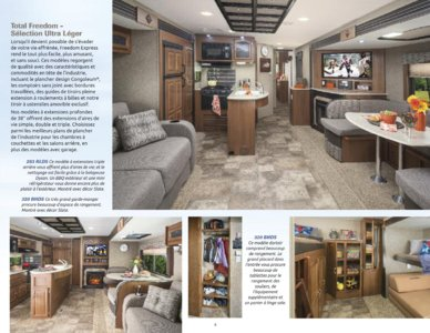 2015 Coachmen Freedom Express French Brochure page 5