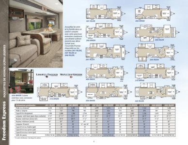 2015 Coachmen Freedom Express French Brochure page 6