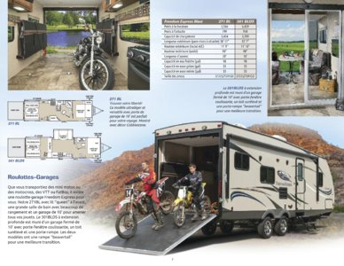2015 Coachmen Freedom Express French Brochure page 7