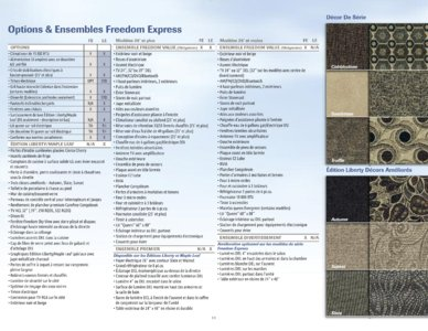 2015 Coachmen Freedom Express French Brochure page 11