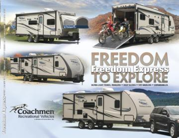2015 Coachmen Freedom Express Brochure