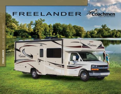2015 Coachmen Freelander Brochure page 1