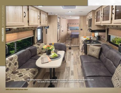2015 Coachmen Freelander Brochure page 2