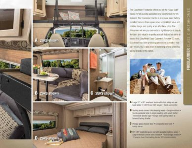 2015 Coachmen Freelander Brochure page 3