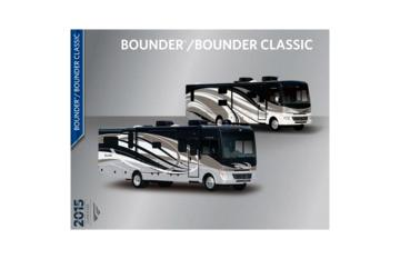 2015 Fleetwood Bounder Classic Brochure