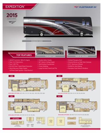 2015 Fleetwood Expedition Brochure