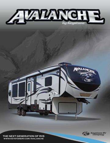 2015 Keystone Rv Avalanche Brochure