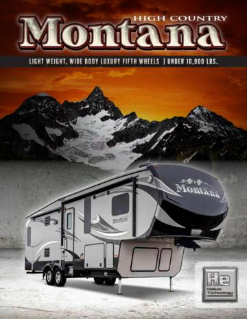 2015 Keystone Rv Montana High Country Brochure