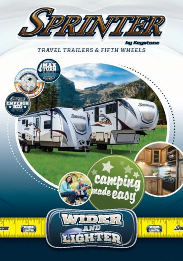2015 Keystone Rv Sprinter Brochure