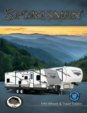 2015 KZ RV Sportsmen Bro Brochure