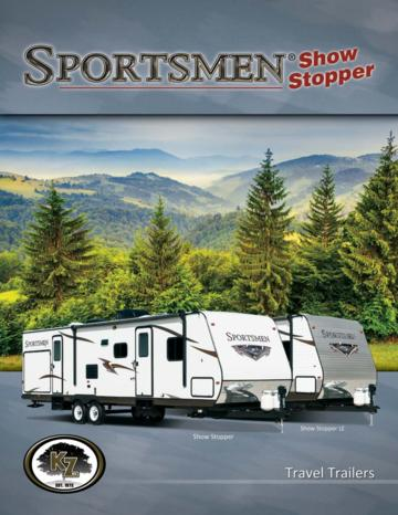 2015 KZ RV Sportsmen Show Stopper Brochure