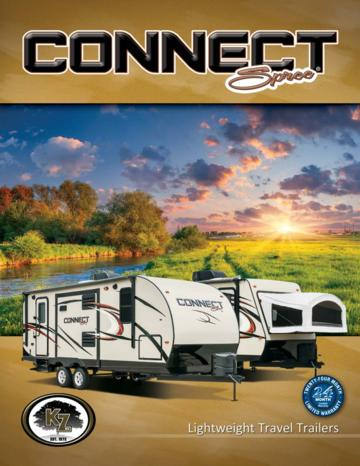 2015 KZ RV Spree Connect Brochure