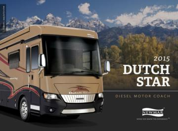 2015 Newmar Dutch Star Brochure