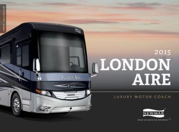 2015 Newmar London Aire Brochure