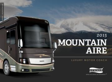 2015 Newmar Mountain Aire Brochure