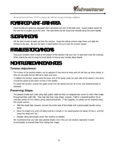 2016 ALP Adventurer Motor Home Owner's Manual page 57