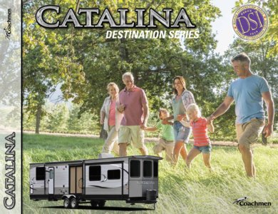 2016 Coachmen Catalina Destination Brochure page 1