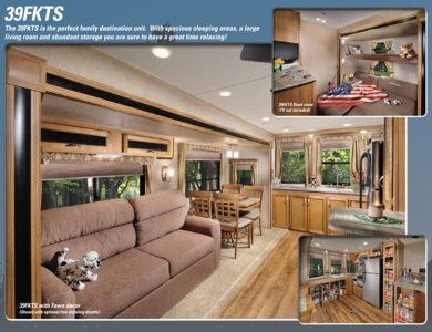 2016 Coachmen Catalina Destination Brochure page 2