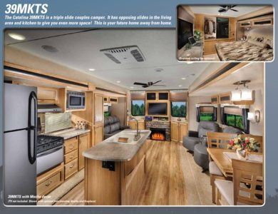 2016 Coachmen Catalina Destination Brochure page 3