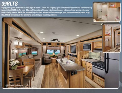 2016 Coachmen Catalina Destination Brochure page 4