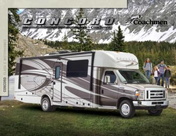 2016 Coachmen Concord Brochure