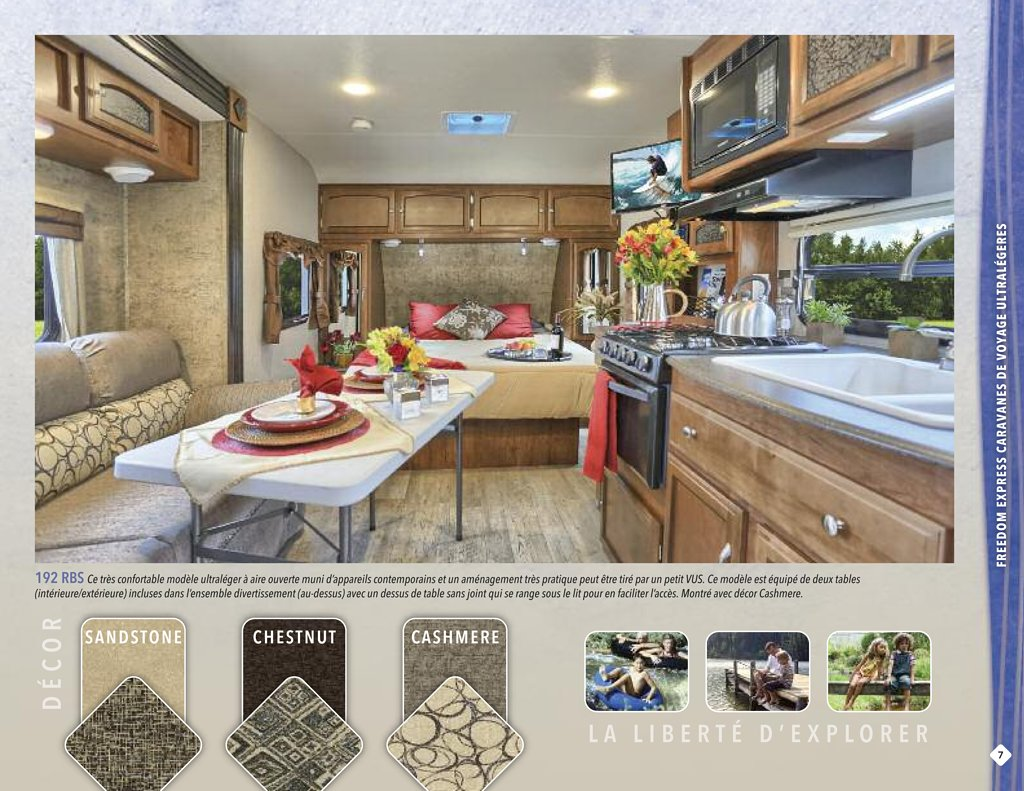 2016 Coachmen Freedom Express French Brochure | RV brochures download