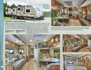 2016 Coachmen Freedom Express French Brochure page 2