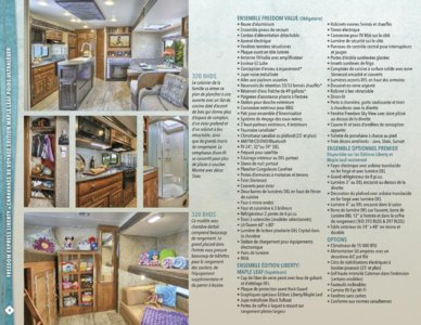 2016 Coachmen Freedom Express French Brochure page 4