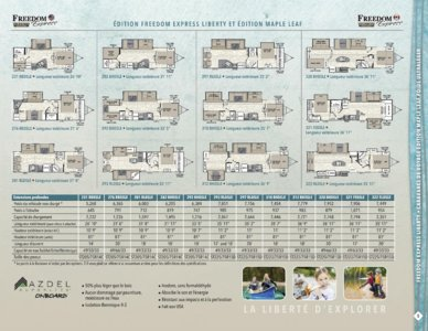 2016 Coachmen Freedom Express French Brochure page 5