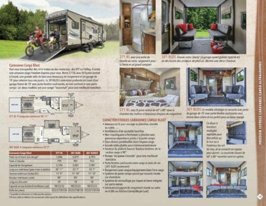 2016 Coachmen Freedom Express French Brochure page 13