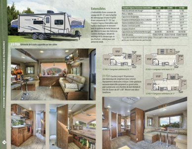 2016 Coachmen Freedom Express French Brochure page 14