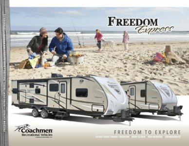 2016 Coachmen Freedom Express Brochure page 1