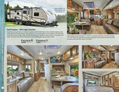 2016 Coachmen Freedom Express Brochure page 2
