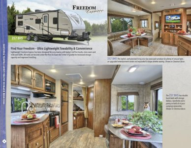 2016 Coachmen Freedom Express Brochure page 6