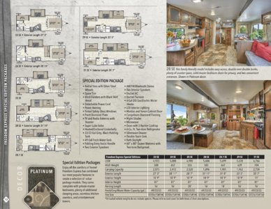 2016 Coachmen Freedom Express Brochure page 12
