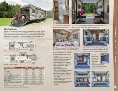 2016 Coachmen Freedom Express Brochure page 13