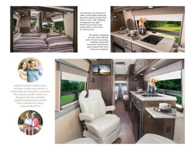 2016 Coachmen Galleria Brochure page 3
