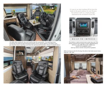2016 Coachmen Galleria Brochure page 4