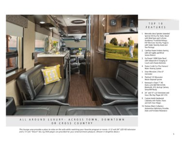 2016 Coachmen Galleria Brochure page 5