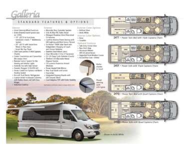 2016 Coachmen Galleria Brochure page 6