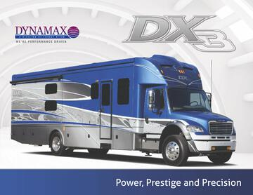 2016 Dynamax Dx3 Brochure