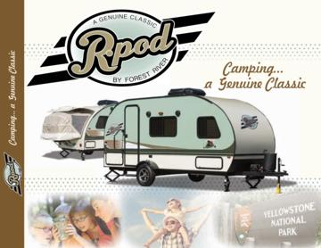 2016 Forest River R-Pod Brochure