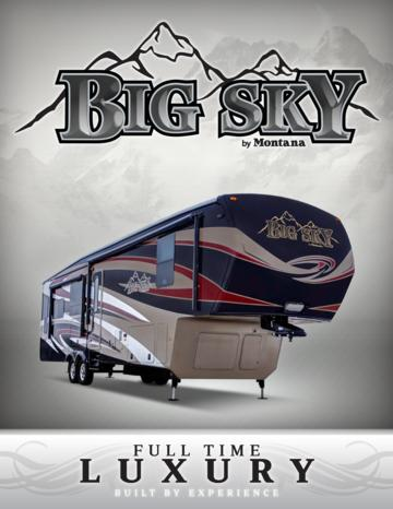 2016 Keystone RV Big Sky Brochure
