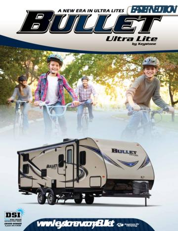 2016 Keystone Rv Bullet Eastern Edition Brochure