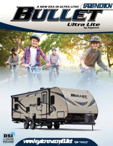 2016 Keystone Rv Bullet Eastern Edition Brochure page 1
