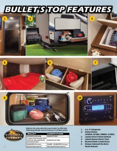 2016 Keystone Rv Bullet Eastern Edition Brochure page 6
