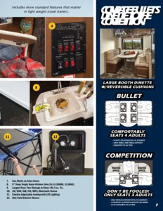 2016 Keystone Rv Bullet Eastern Edition Brochure page 7